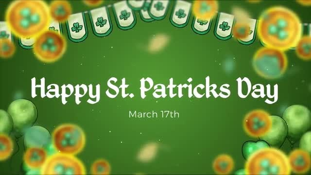 St. Patricks Slideshow: After Effects Templates