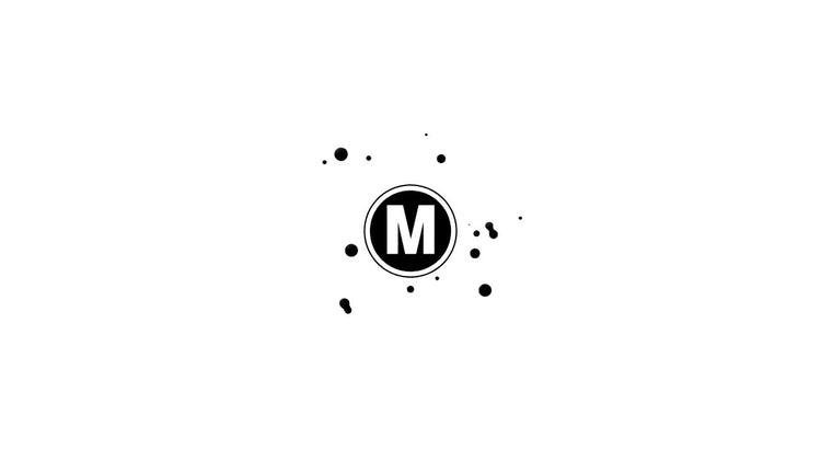 Cartoon Water Blob Logo: After Effects Templates