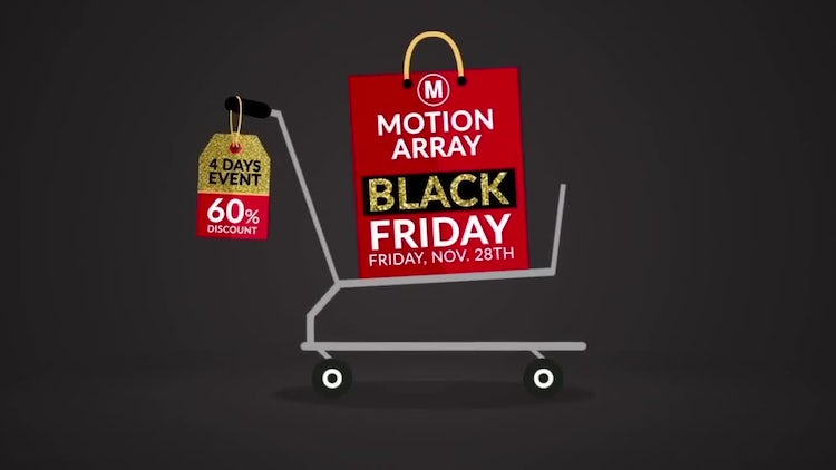 Black Friday: After Effects Templates