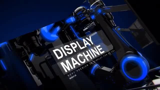 Display Machine: After Effects Templates
