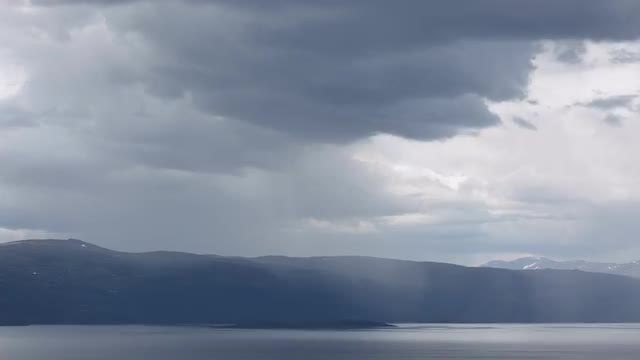 Rain Clouds Time Lapse: Stock Video