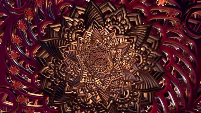 Mandala Art Animation 2: Stock Motion Graphics