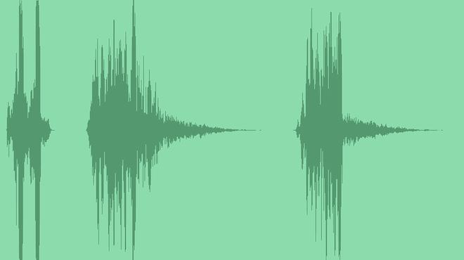 Glitch Transition Intro Logo: Sound Effects
