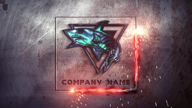 Metal Industrial Logo: After Effects Templates