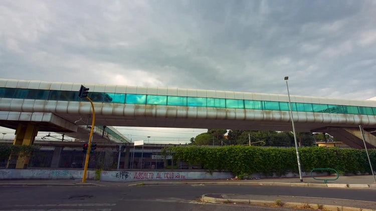 Ostiense Train Station: Stock Video