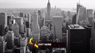 Hot Magma: After Effects Templates