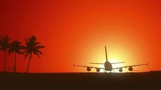 Jet Landing: Motion Graphics