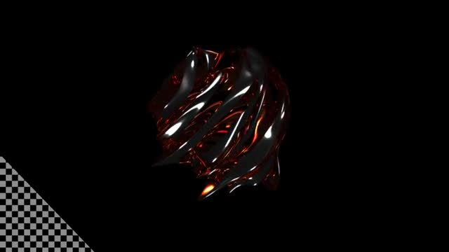Abstract Gemstone 4K: Stock Motion Graphics