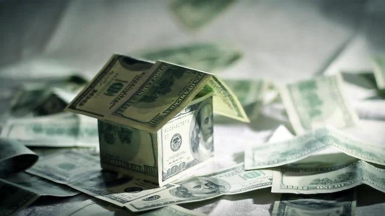 Money House: Stock Video