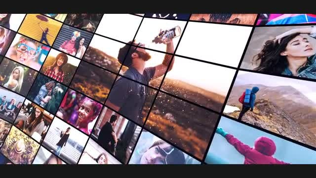 Multi Photo Slideshow: After Effects Templates