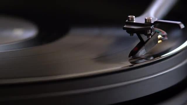 Vinyl Record Needle: Stock Video