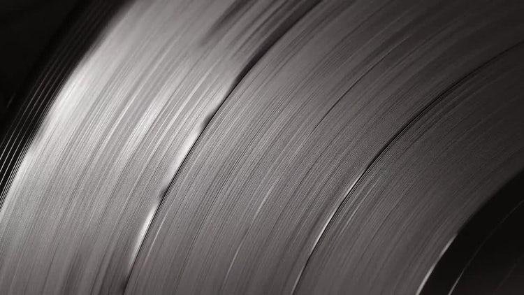 Spinning Vinyl: Stock Video