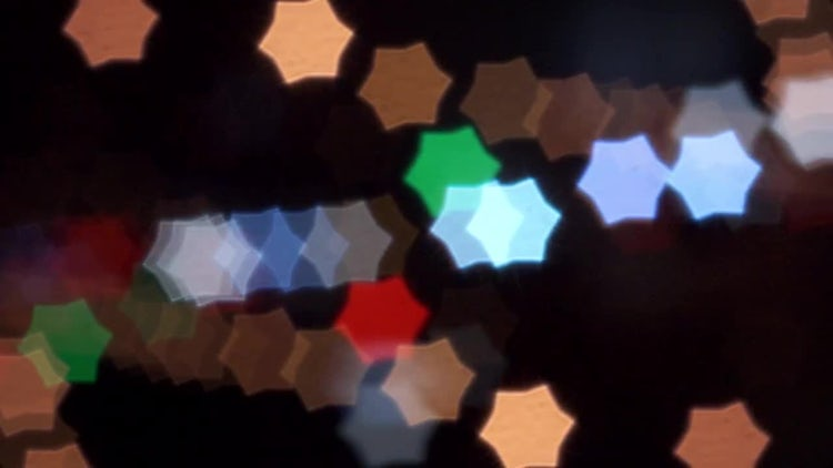 The Dynamic Star Blur: Stock Video
