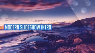 Modern Slideshow Intro: After Effects Templates