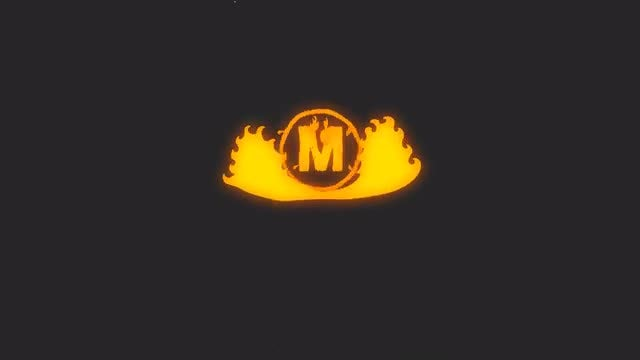 Hand Drawn Fireball Logo: After Effects Templates