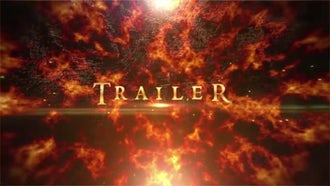 Fire Epic Titles: After Effects Templates