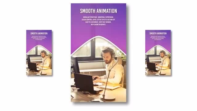 Vertical Corporate Slideshow: After Effects Templates