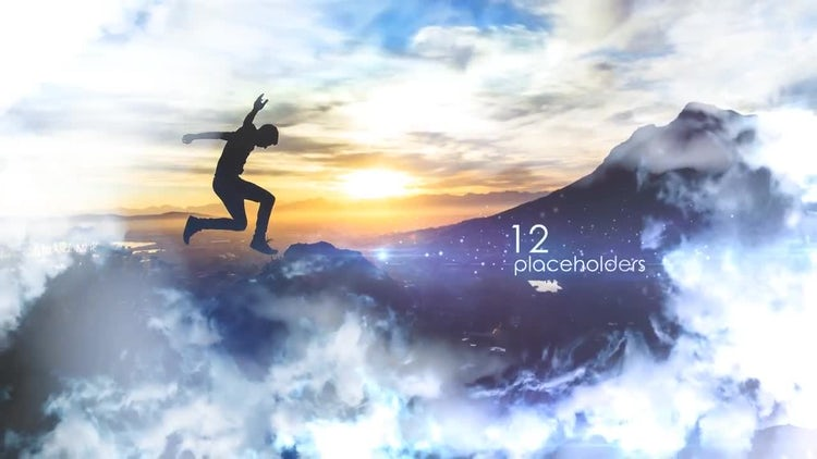 Clouds Slideshow: After Effects Templates