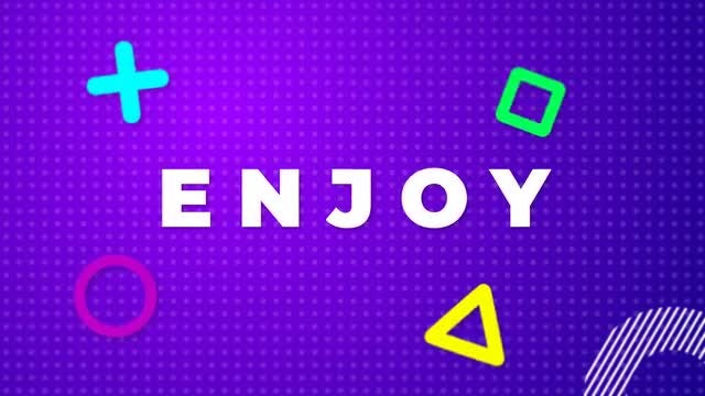Color Typography Stomp: After Effects Templates