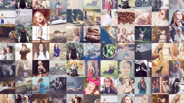 Creative Photo Gallery: After Effects Templates