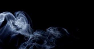 4k Smoke Wisp 05: Stock Video