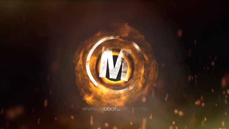 Fire Explosion Logo: After Effects Templates