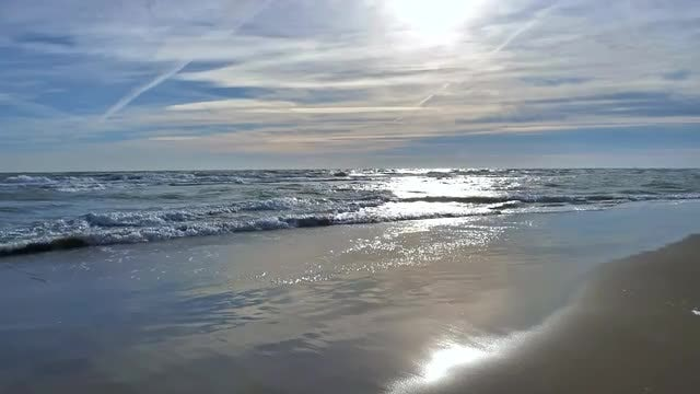 Waves At The Beach: Stock Video