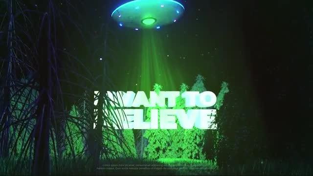 UFO Logo: Premiere Pro Templates