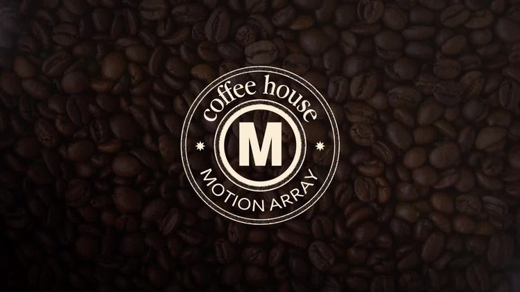 Coffee House: After Effects Templates