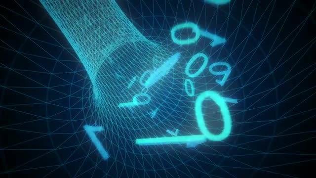 Falling Green Matrix Code - Stock Motion Graphics   Motion Array
