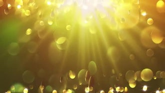 Gold Yellow Particle Background: Motion Graphics