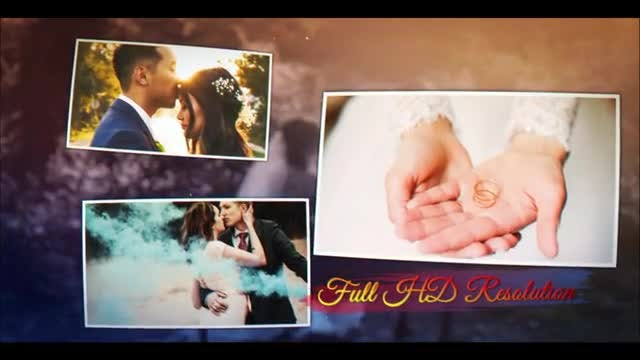 Elegant Wedding Memory: After Effects Templates