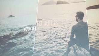 Soft Parallax Slideshow: After Effects Templates