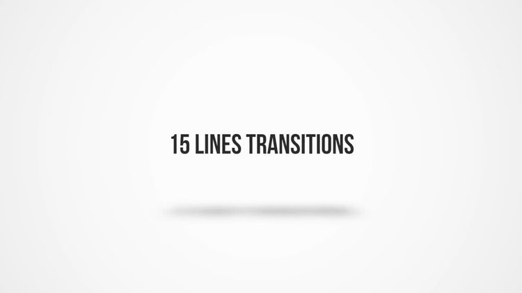 Lines Transitions: Premiere Pro Templates