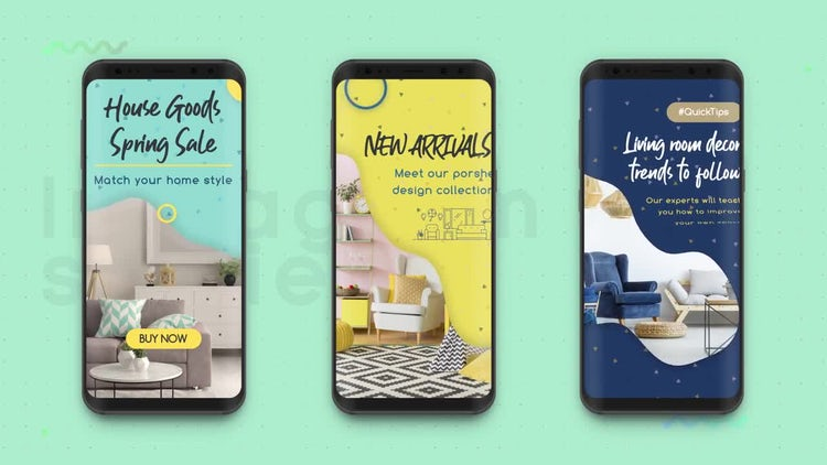 Instagram Stories: Product Promotion: After Effects Templates