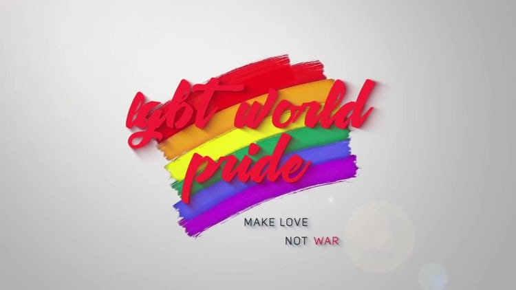 LGBT Opener: After Effects Templates