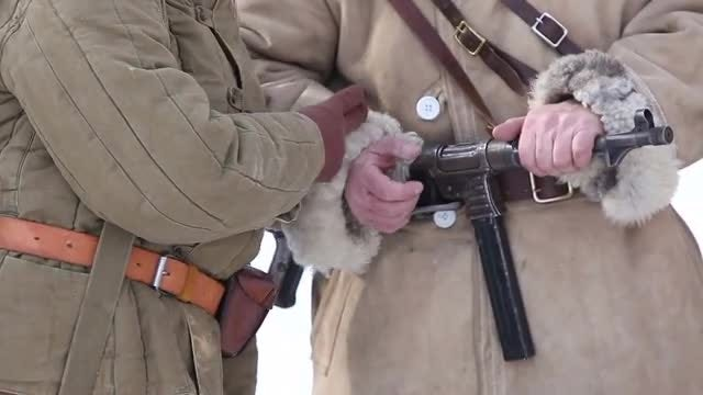 Second World War Soldiers: Stock Video