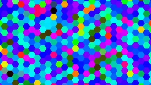 Mosaic 4K Background: Stock Motion Graphics