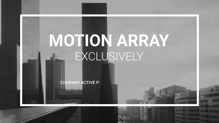 Clean Promo Presentation: After Effects Templates