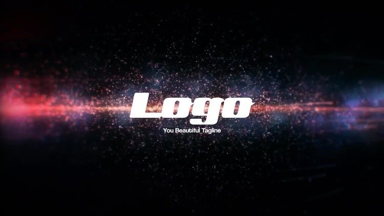 Space Explosion Logo Reveal: After Effects Templates