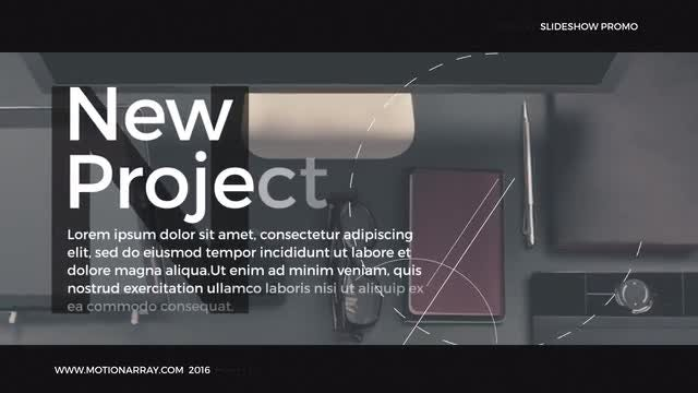 Slideshow Promo: After Effects Templates