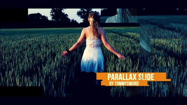 Parallax Slide: After Effects Templates