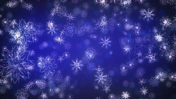 Christmas Flakes: Stock Motion Graphics