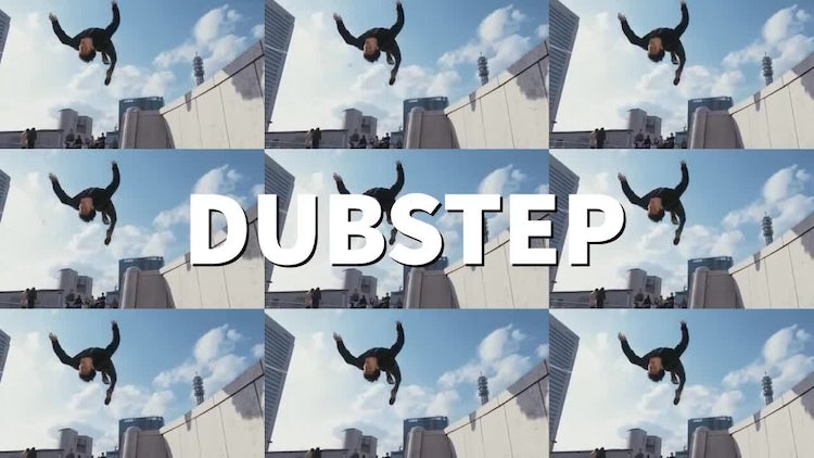 Dubstep: After Effects Templates