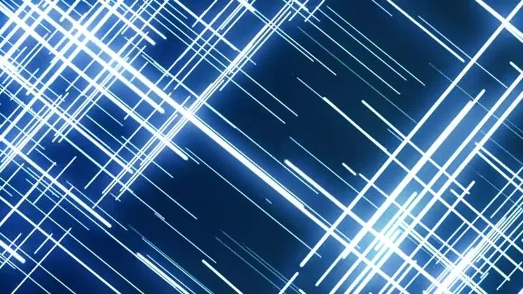 Blue Abstract Grid Lines: Stock Motion Graphics