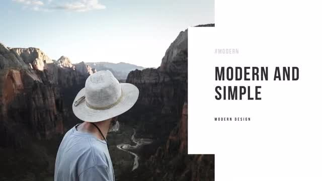 Simple White Slideshow: After Effects Templates