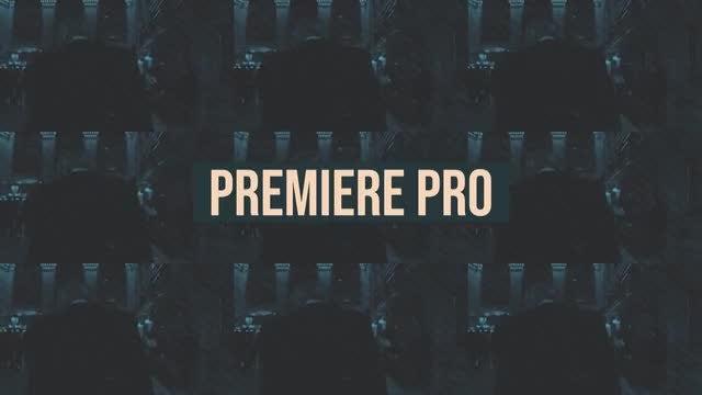 Hip-Hop Urban Opener: Premiere Pro Templates