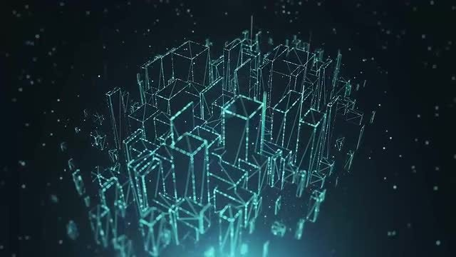 Futuristic City: Stock Motion Graphics