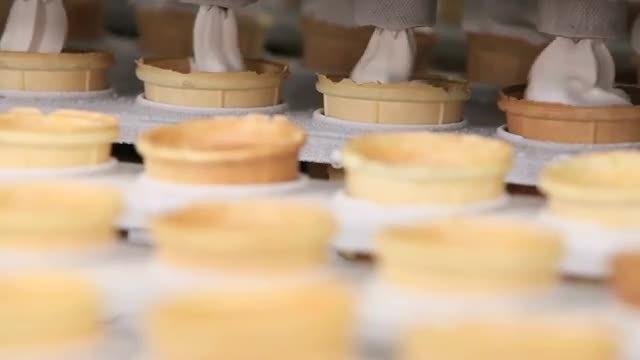 Production Line Of Ice Cream: Stock Video