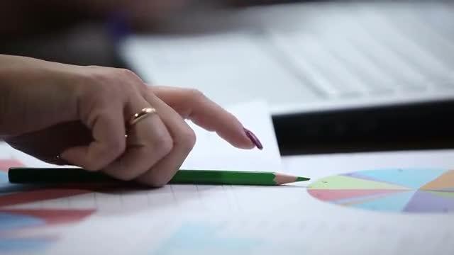 Accountant Hands: Stock Video